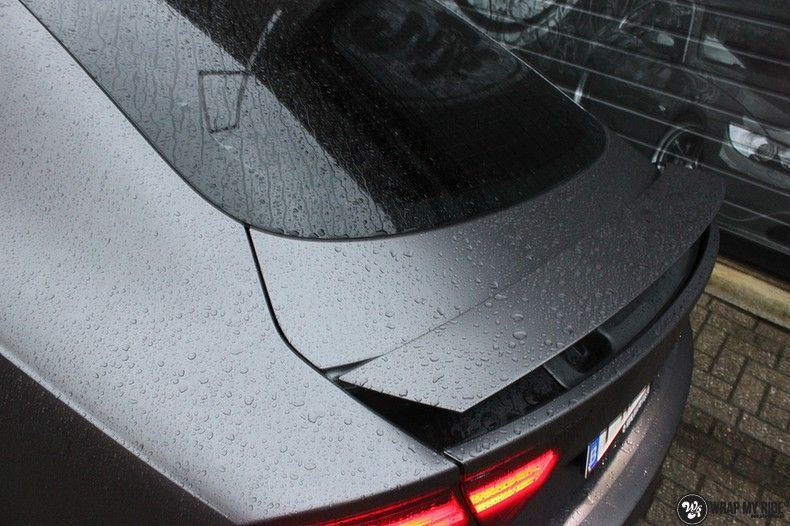 Audi A7 S-line Satin Dark Grey, Carwrapping door Wrapmyride.nu Foto-nr:10567, ©2018