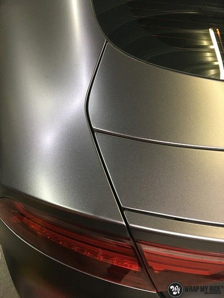 Audi A7 S-line Satin Dark Grey, Carwrapping door Wrapmyride.nu Foto-nr:10587, ©2018