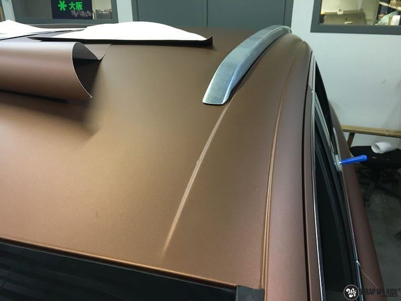 Audi Q7 Arlon Aztec Bronze, Carwrapping door Wrapmyride.nu Foto-nr:9403, ©2018