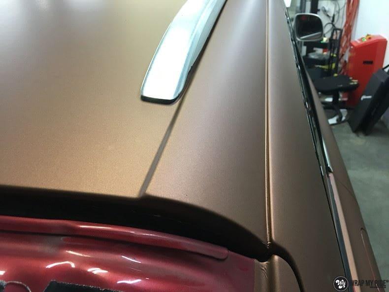 Audi Q7 Arlon Aztec Bronze, Carwrapping door Wrapmyride.nu Foto-nr:9402, ©2018