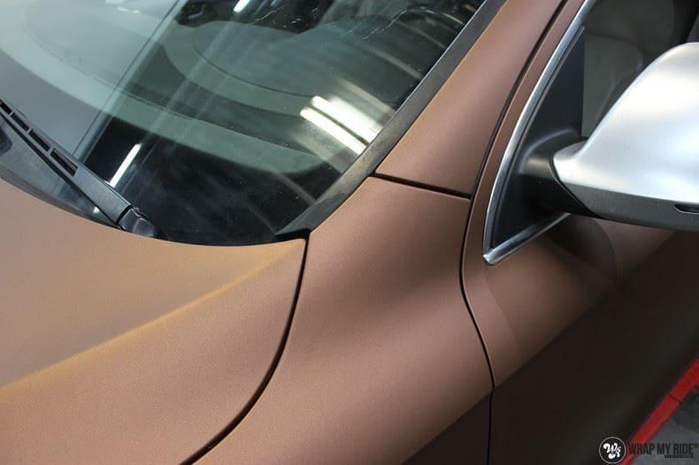 Audi Q7 Arlon Aztec Bronze, Carwrapping door Wrapmyride.nu Foto-nr:9393, ©2018