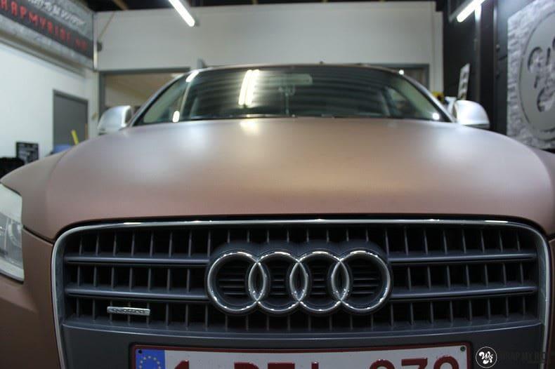 Audi Q7 Arlon Aztec Bronze, Carwrapping door Wrapmyride.nu Foto-nr:9392, ©2018