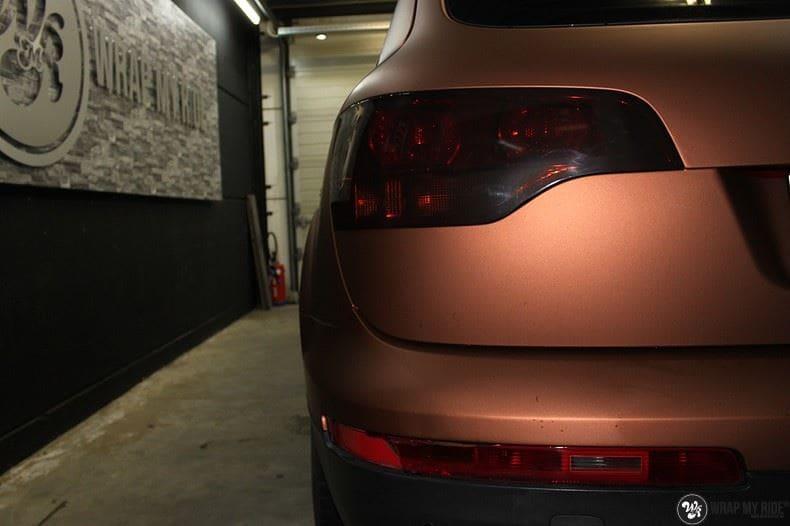 Audi Q7 Arlon Aztec Bronze, Carwrapping door Wrapmyride.nu Foto-nr:9388, ©2018