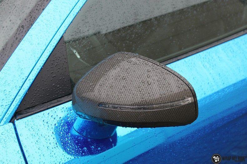 Audi R8 Bleu Chrome, Carwrapping door Wrapmyride.nu Foto-nr:10489, ©2017