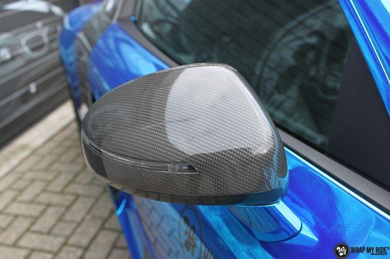 Audi R8 Bleu Chrome, Carwrapping door Wrapmyride.nu Foto-nr:10472, ©2017