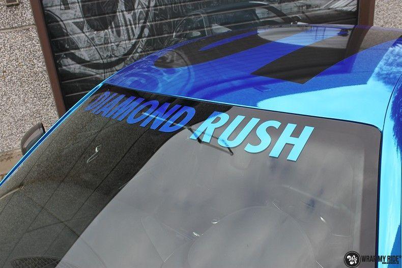 Audi R8 Bleu Chrome, Carwrapping door Wrapmyride.nu Foto-nr:10468, ©2017