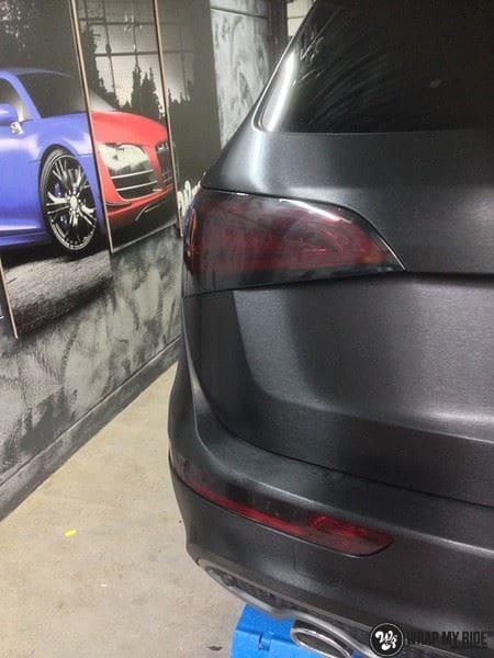 Audi Q5 Brushed black, Carwrapping door Wrapmyride.nu Foto-nr:8384, ©2017