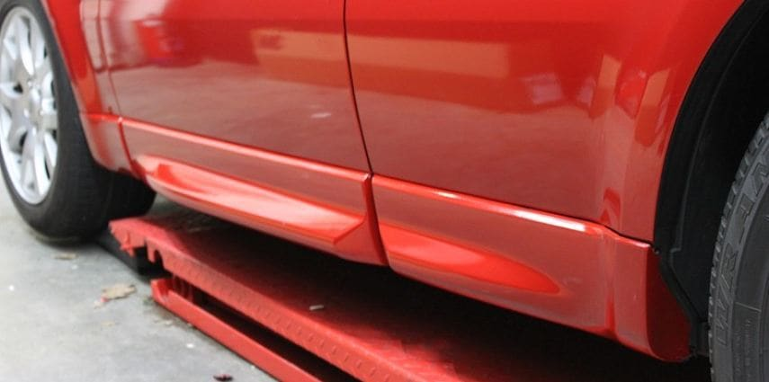 Range Rover Sport Dragon Fire Red