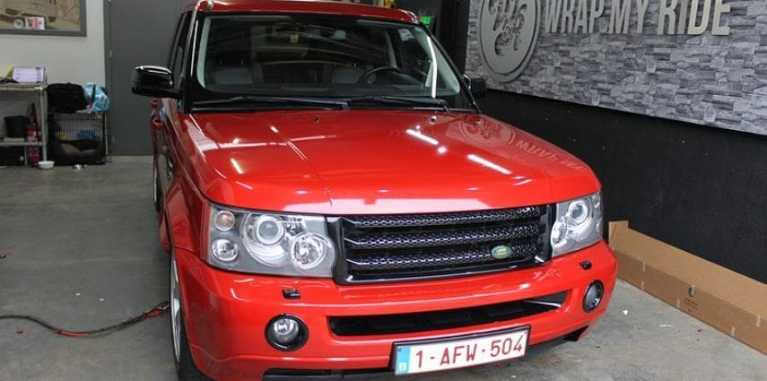 Range Rover Sport Dragon Fire Red