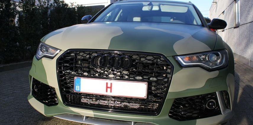 Audi A6 Camo style
