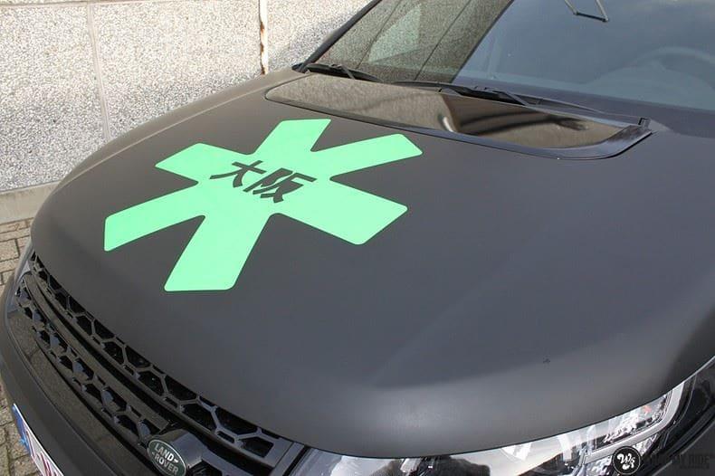 RangeRover Discovery Sport Osaka, Carwrapping door Wrapmyride.nu Foto-nr:8711, ©2017