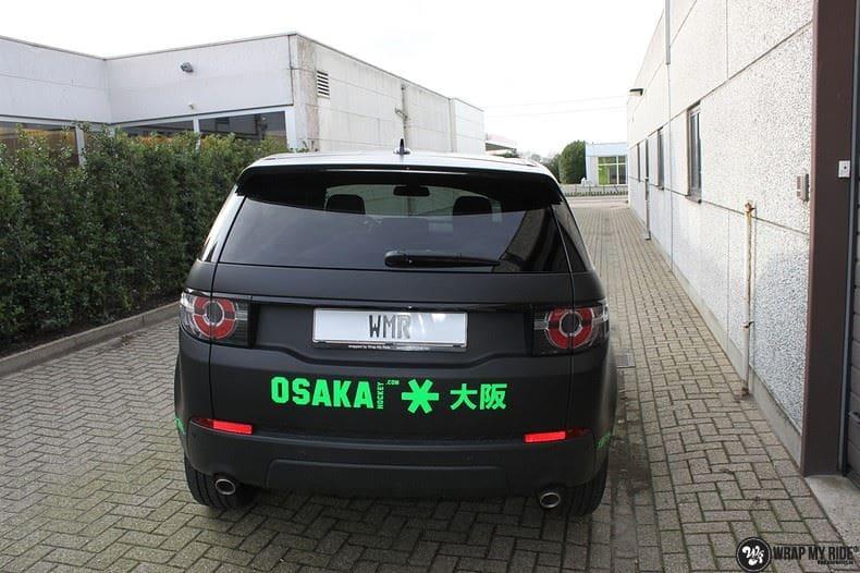 RangeRover Discovery Sport Osaka, Carwrapping door Wrapmyride.nu Foto-nr:8706, ©2017