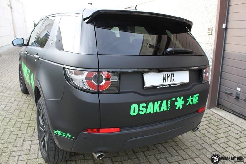 RangeRover Discovery Sport Osaka, Carwrapping door Wrapmyride.nu Foto-nr:8705, ©2017