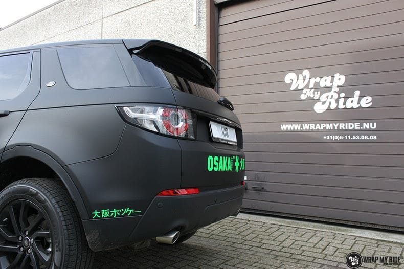 RangeRover Discovery Sport Osaka, Carwrapping door Wrapmyride.nu Foto-nr:8704, ©2017