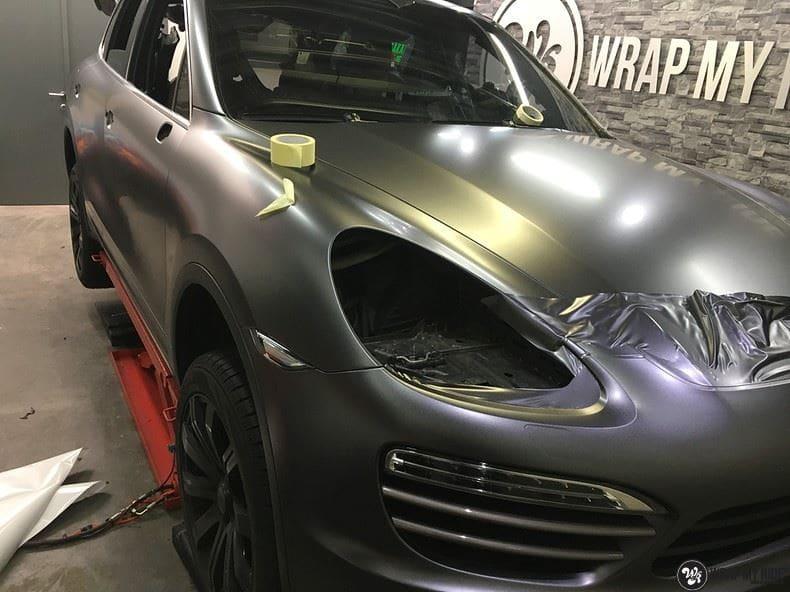 Porsche Cayenne, Carwrapping door Wrapmyride.nu Foto-nr:9618, ©2018