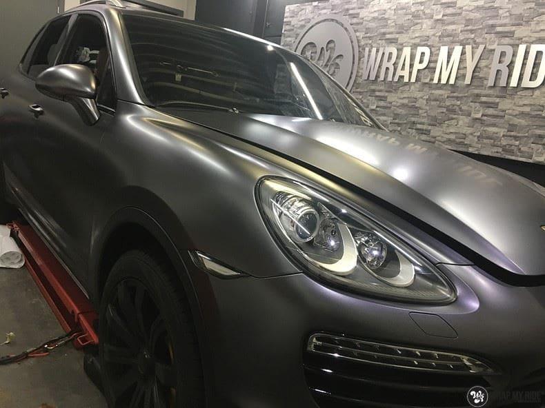 Porsche Cayenne, Carwrapping door Wrapmyride.nu Foto-nr:9612, ©2018