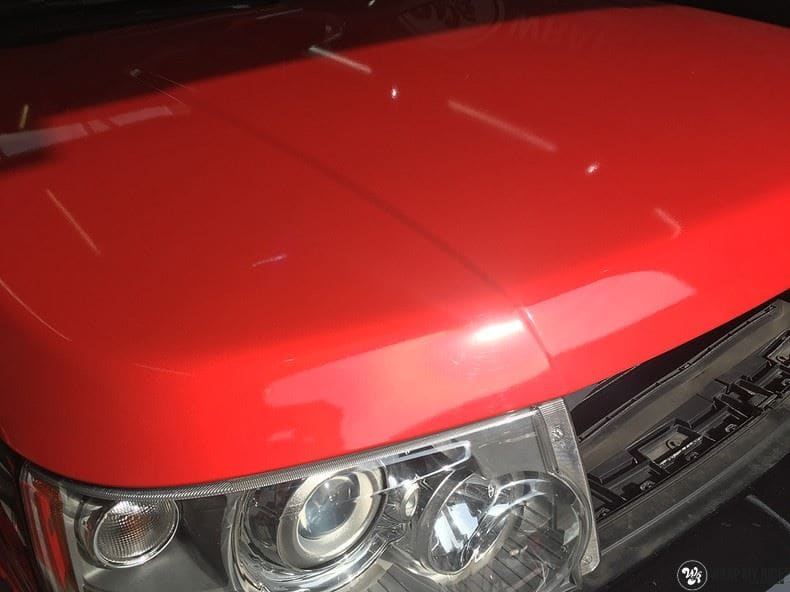 Range Rover Sport Dragon Fire Red, Carwrapping door Wrapmyride.nu Foto-nr:9854, ©2017