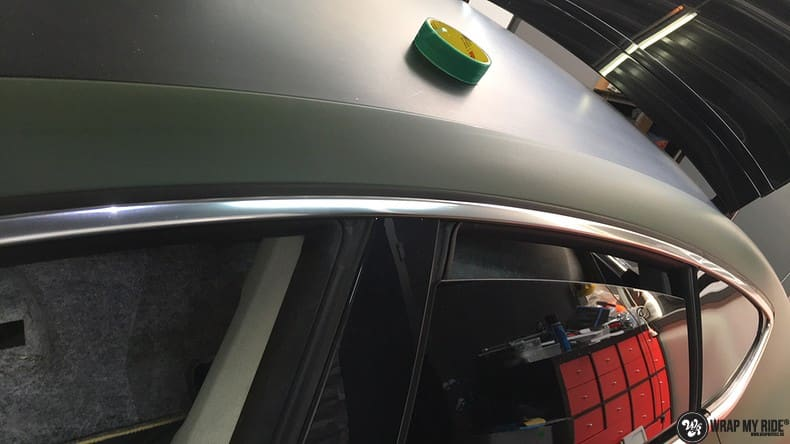 Audi A7 matte military green, Carwrapping door Wrapmyride.nu Foto-nr:9988, ©2017