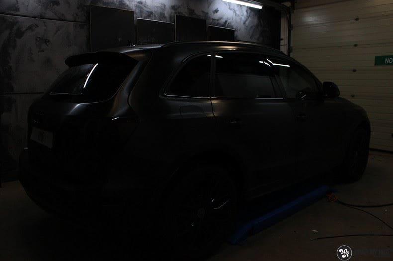 Audi Q5 Brushed black, Carwrapping door Wrapmyride.nu Foto-nr:8385, ©2017