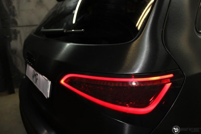 Audi Q5 Brushed black, Carwrapping door Wrapmyride.nu Foto-nr:8391, ©2017