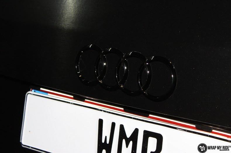 Audi Q5 Brushed black, Carwrapping door Wrapmyride.nu Foto-nr:8394, ©2017