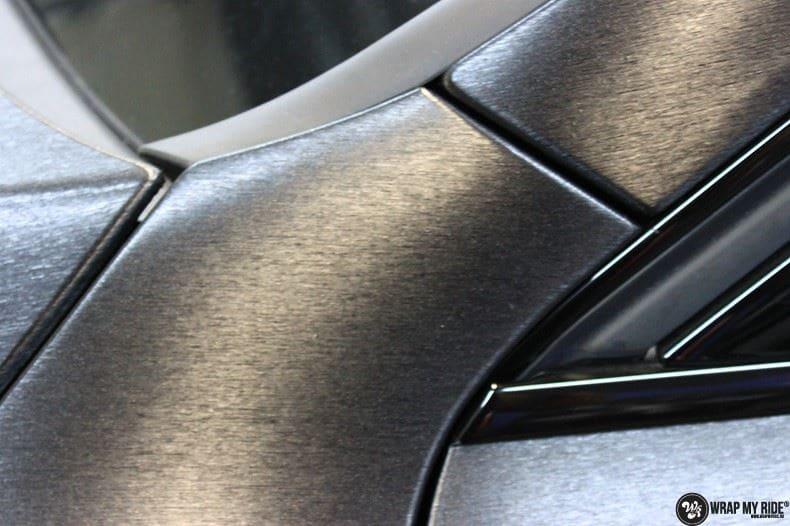 Audi Q5 Brushed black, Carwrapping door Wrapmyride.nu Foto-nr:8410, ©2017