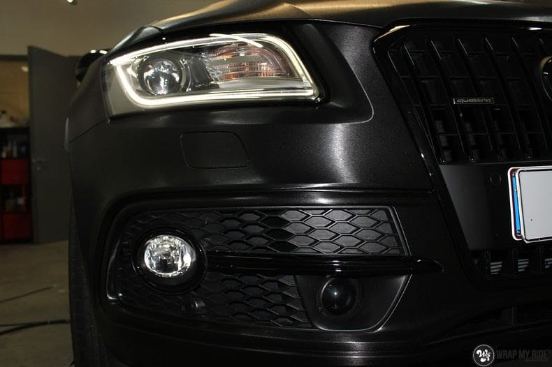 Audi Q5 Brushed black, Carwrapping door Wrapmyride.nu Foto-nr:8418, ©2017