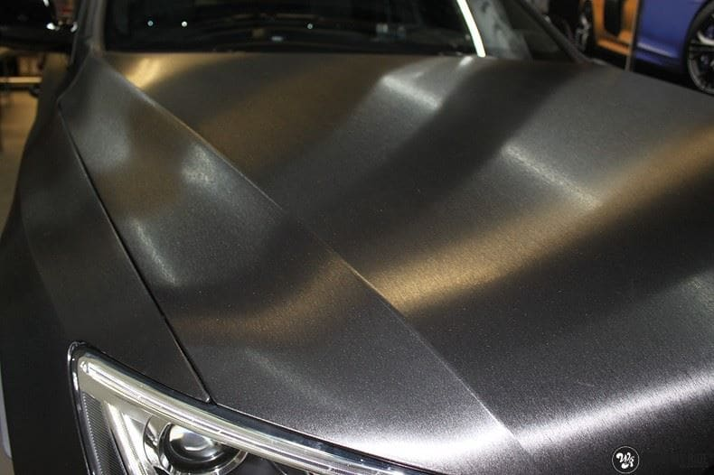 Audi Q5 Brushed black, Carwrapping door Wrapmyride.nu Foto-nr:8421, ©2017