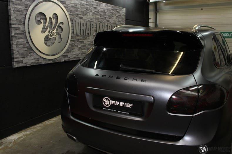 Porsche Cayenne, Carwrapping door Wrapmyride.nu Foto-nr:9608, ©2018