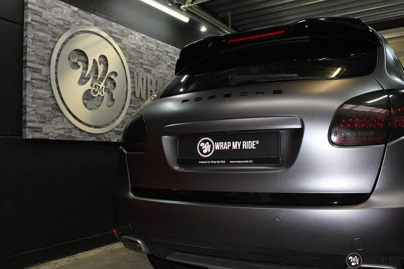 Porsche Cayenne, Carwrapping door Wrapmyride.nu Foto-nr:9607, ©2018