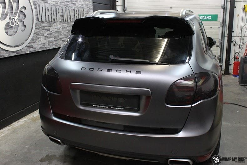 Porsche Cayenne, Carwrapping door Wrapmyride.nu Foto-nr:9606, ©2018