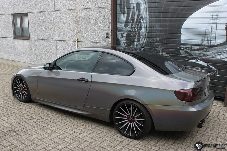 BMW E92 Coupe 3M gloss flip Psycedelic, Carwrapping door Wrapmyride.nu Foto-nr:10256, ©2018