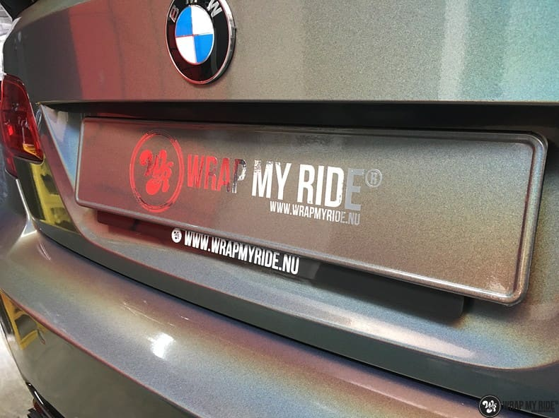 BMW E92 Coupe 3M gloss flip Psycedelic, Carwrapping door Wrapmyride.nu Foto-nr:10257, ©2018