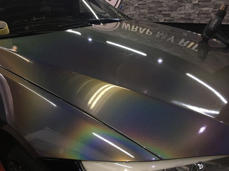 BMW E92 Coupe 3M gloss flip Psycedelic, Carwrapping door Wrapmyride.nu Foto-nr:10267, ©2018