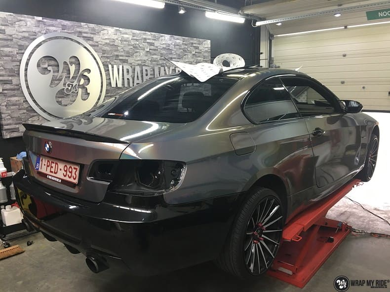 BMW E92 Coupe 3M gloss flip Psycedelic, Carwrapping door Wrapmyride.nu Foto-nr:10264, ©2018