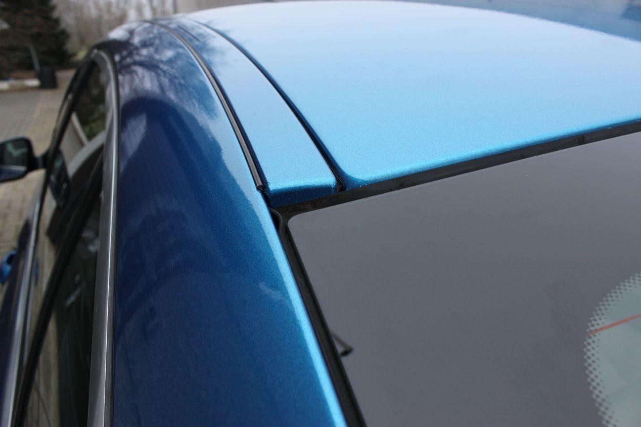BMW F10 gloss bleu metallic, Carwrapping door Wrapmyride.nu Foto-nr:9507, ©2018