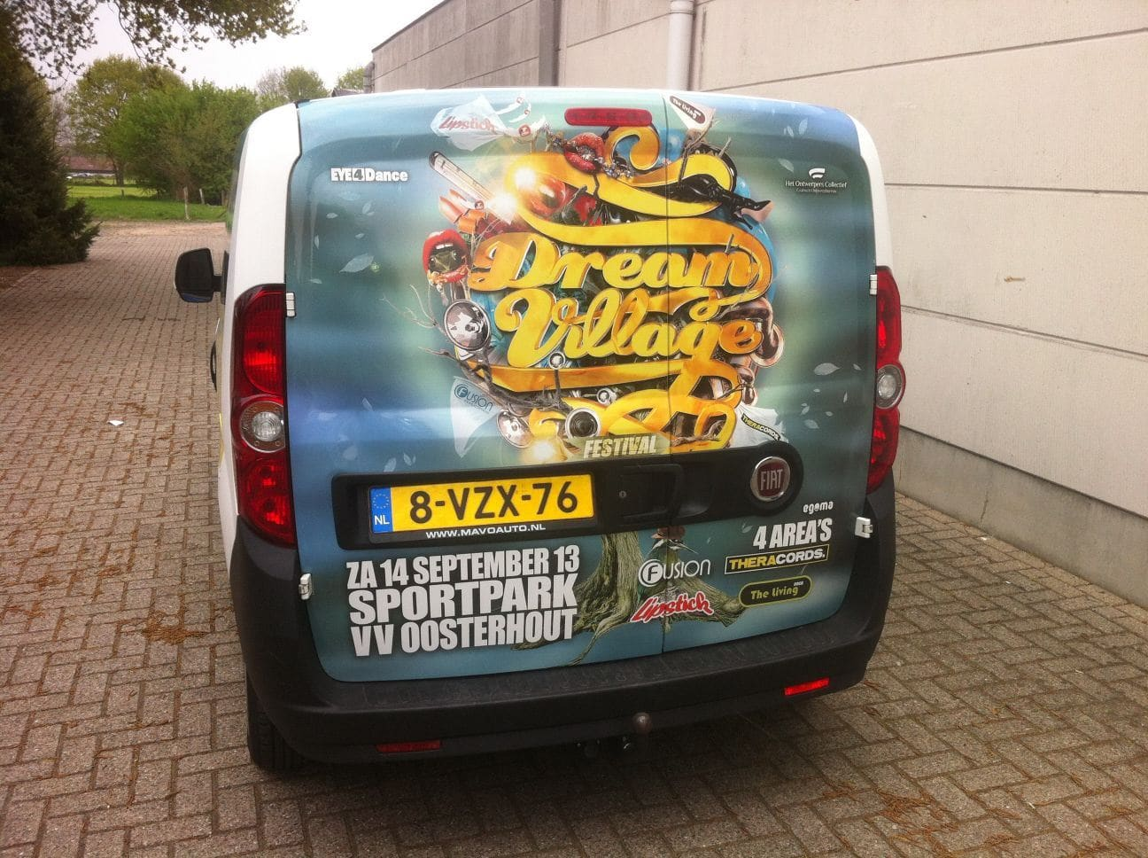 Diverse Auto's met een Full Color Wrap, Carwrapping door Wrapmyride.nu Foto-nr:5850, ©2017