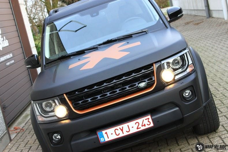 Landrover Discovery Osaka People, Carwrapping door Wrapmyride.nu Foto-nr:8506, ©2017