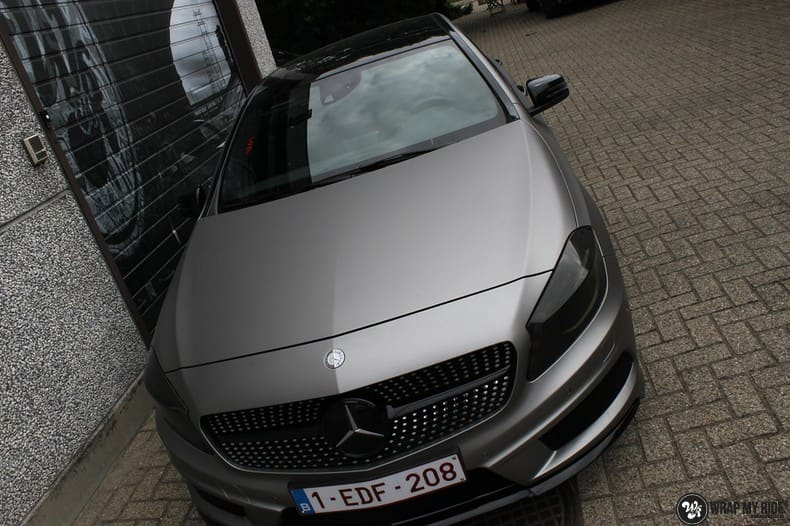 Mercedes A200 AMG, Carwrapping door Wrapmyride.nu Foto-nr:9903, ©2018