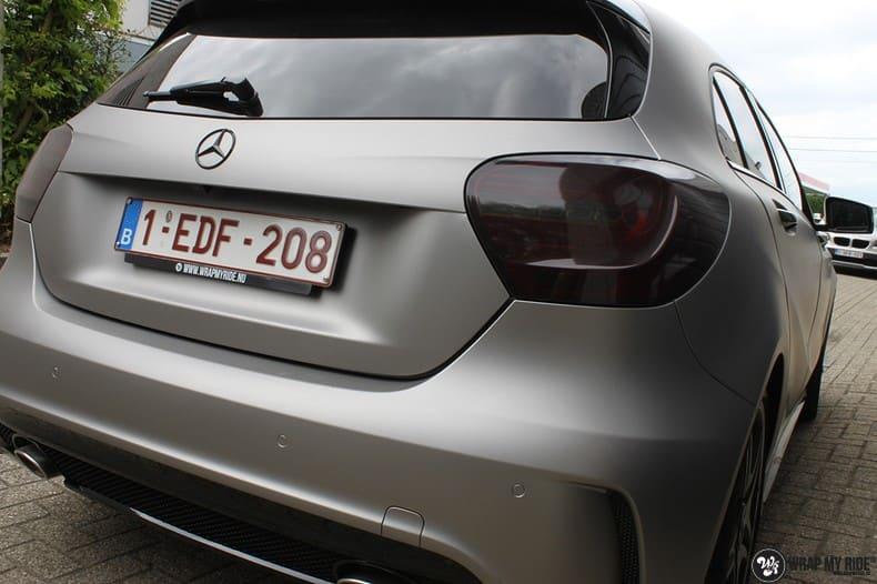 Mercedes A200 AMG, Carwrapping door Wrapmyride.nu Foto-nr:9897, ©2018
