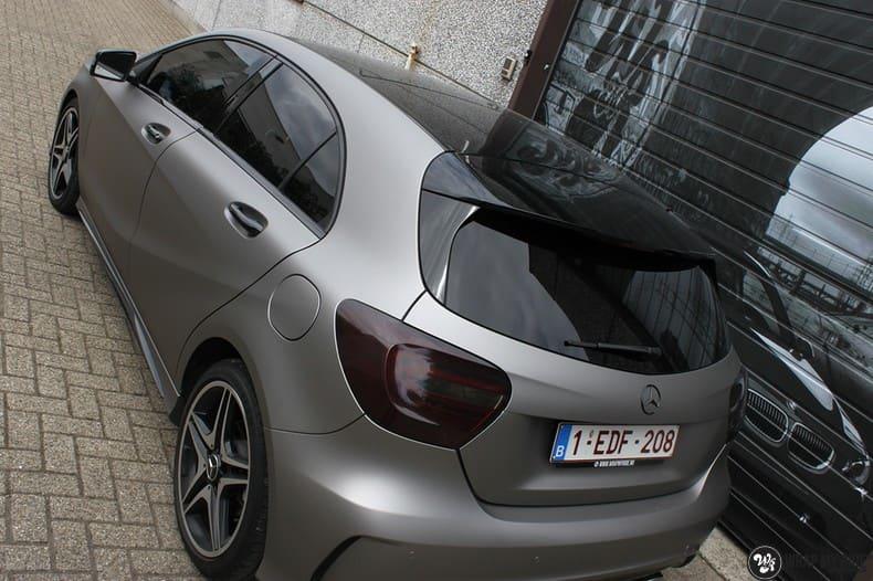Mercedes A200 AMG, Carwrapping door Wrapmyride.nu Foto-nr:9896, ©2018