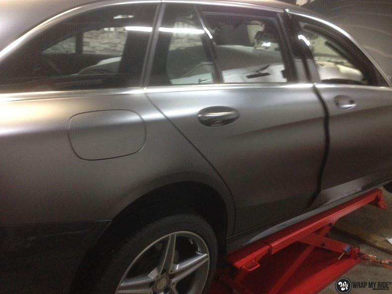 Mercedes C350e AMG, Carwrapping door Wrapmyride.nu Foto-nr:8652, ©2017
