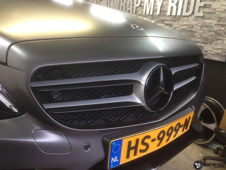 Mercedes C350e AMG, Carwrapping door Wrapmyride.nu Foto-nr:8641, ©2017