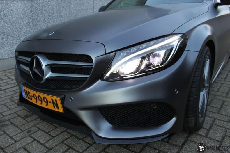 Mercedes C350e AMG, Carwrapping door Wrapmyride.nu Foto-nr:8614, ©2017