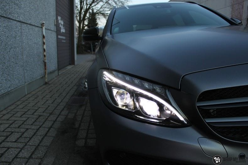 Mercedes C350e AMG, Carwrapping door Wrapmyride.nu Foto-nr:8611, ©2017