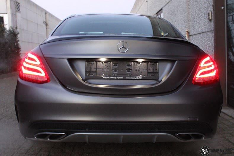 Mercedes C43 AMG, Carwrapping door Wrapmyride.nu Foto-nr:9652, ©2018