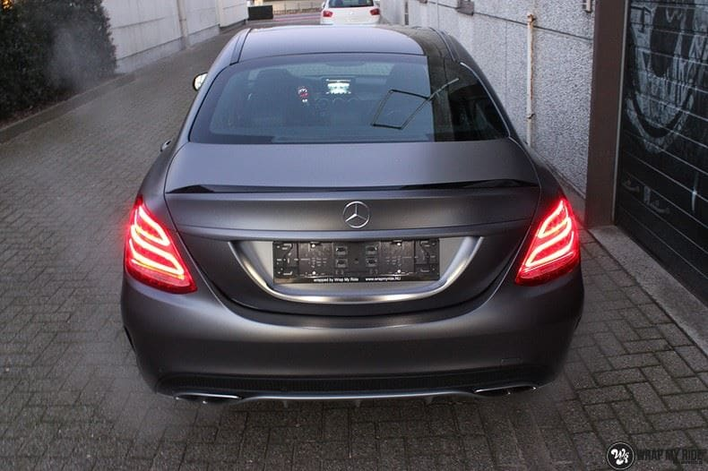 Mercedes C43 AMG, Carwrapping door Wrapmyride.nu Foto-nr:9653, ©2018