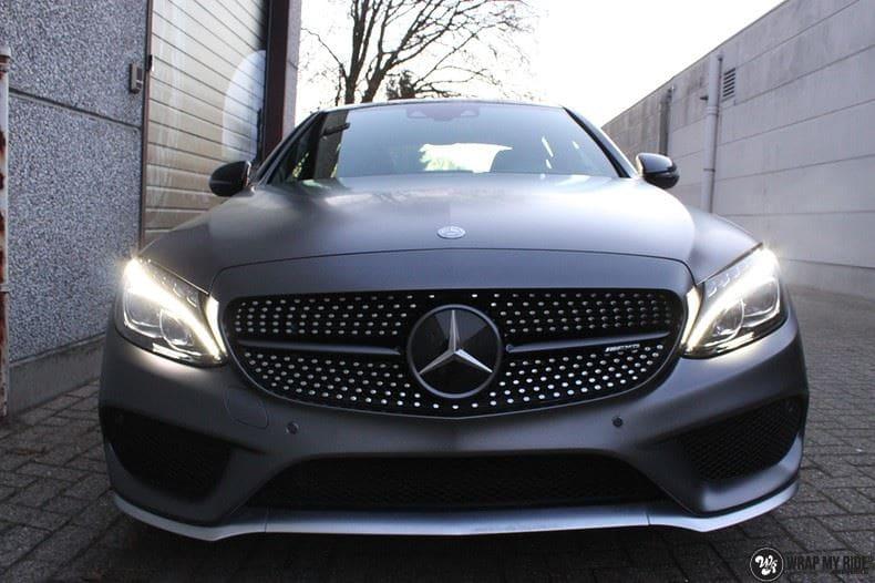Mercedes C43 AMG, Carwrapping door Wrapmyride.nu Foto-nr:9654, ©2018