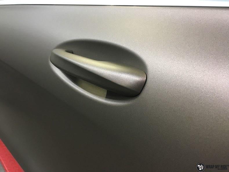 Mercedes GLC matte metallic brown, Carwrapping door Wrapmyride.nu Foto-nr:9566, ©2018