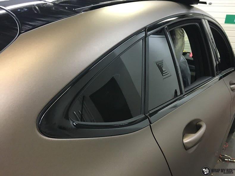 Mercedes GLC matte metallic brown, Carwrapping door Wrapmyride.nu Foto-nr:9561, ©2018